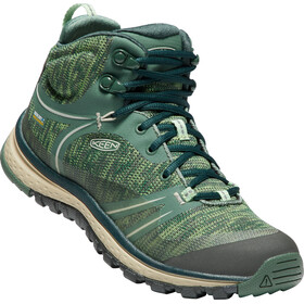Keen Terradora WP Mid Shoes Women Duck Green/Quiet Green